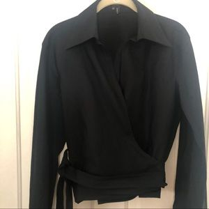 Gucci Wrap Blouse